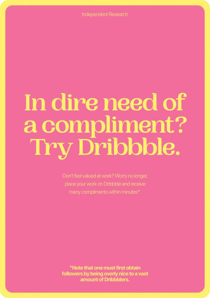Make Dribbble Great Again